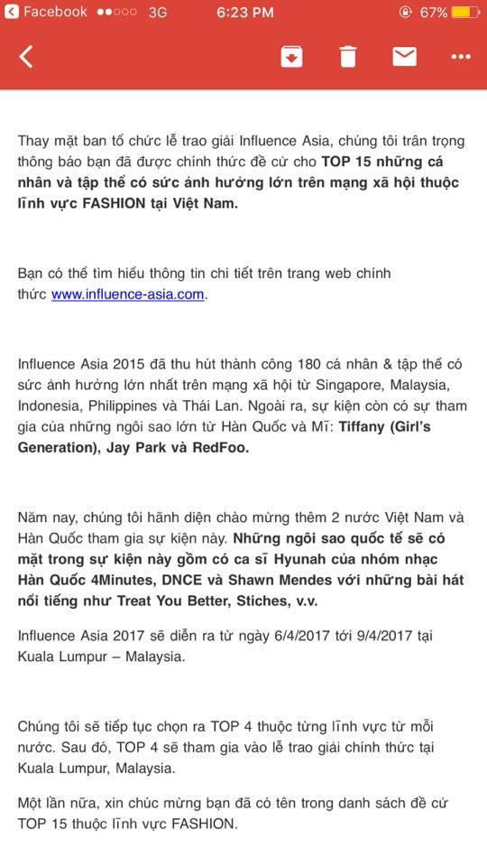 Salim, Sun HT... lọt Top nhân tố thời trang ảnh hưởng nhất mạng xã hội do giải thưởng Influence Asia chọn lựa - Ảnh 5.