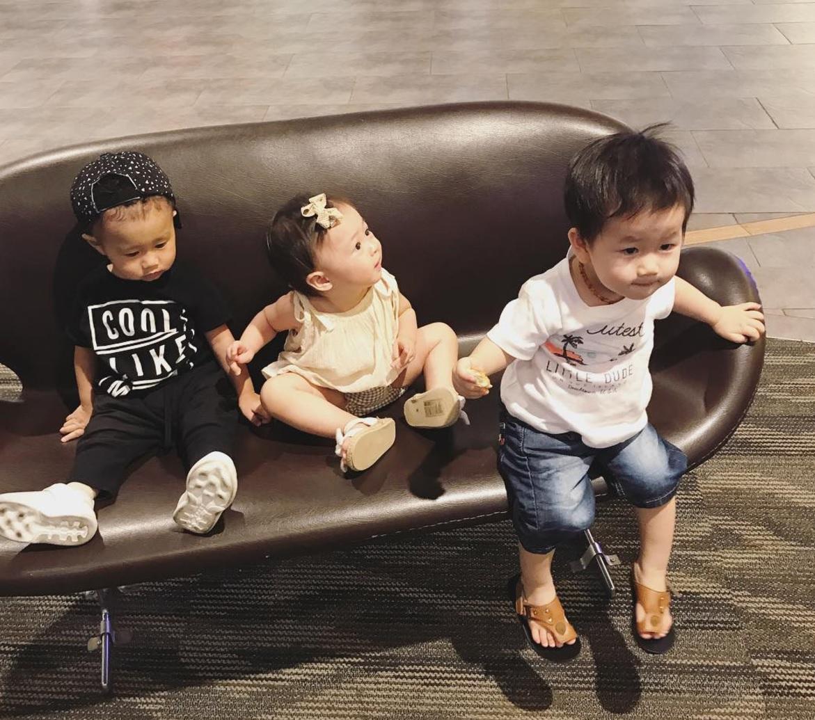 Còn gì dễ thương bằng khoảnh khắc 3 cặp ông bố - bà mẹ bỉm sữa nổi tiếng nhất MXH gặp nhau! - Ảnh 14.