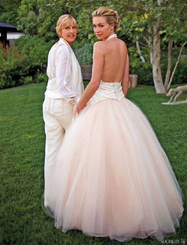Trước Hồ Vĩnh Khoa, cũng đã có nhiều đám cưới đồng tính đẹp như mơ của sao thế giới - Ảnh 2.