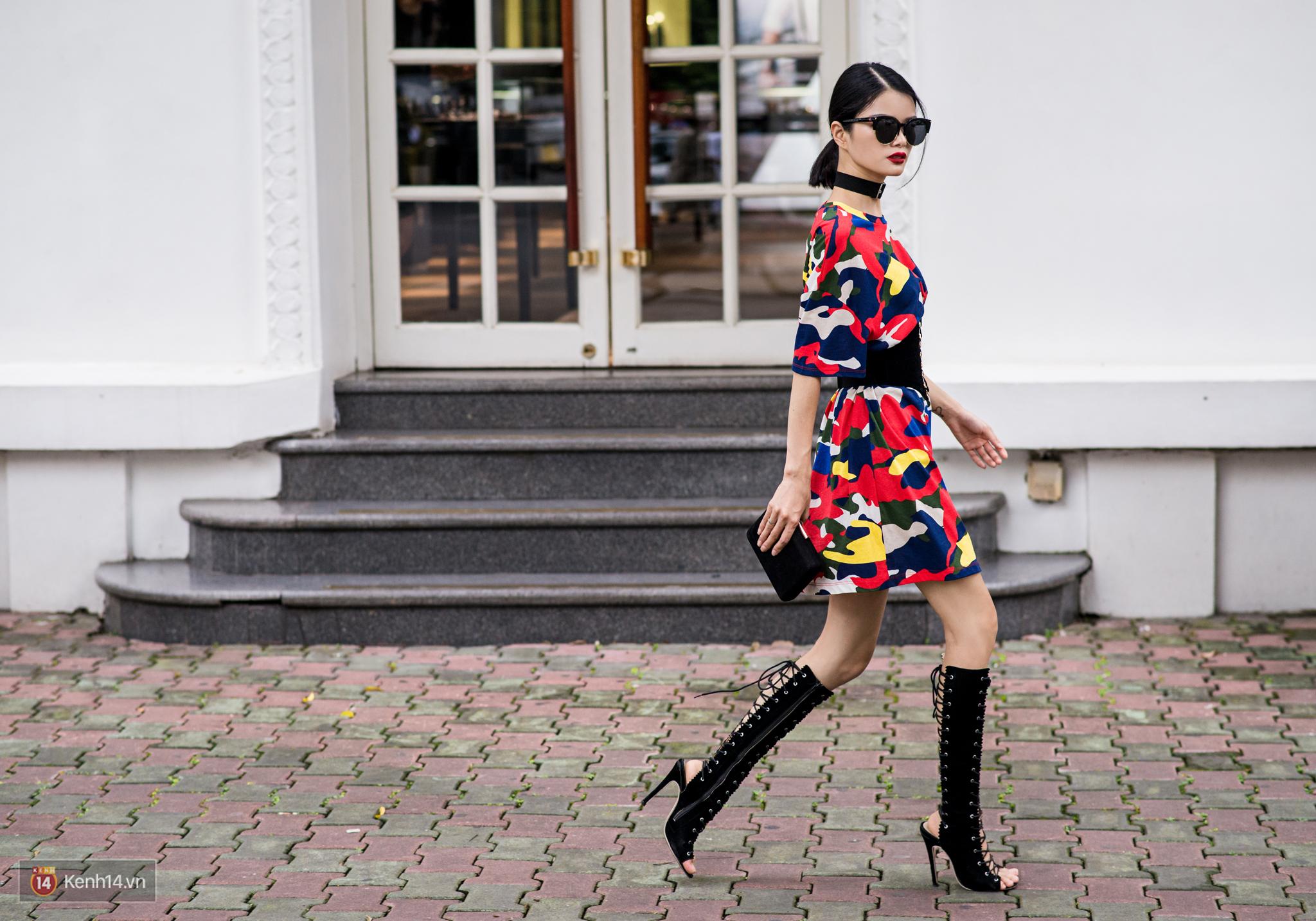 Street style 2 miền: Dù theo phong cách nữ tính hay cool ngầu, các bạn trẻ cũng mix đồ cực hay và diện toàn item trendy nhất - Ảnh 12.