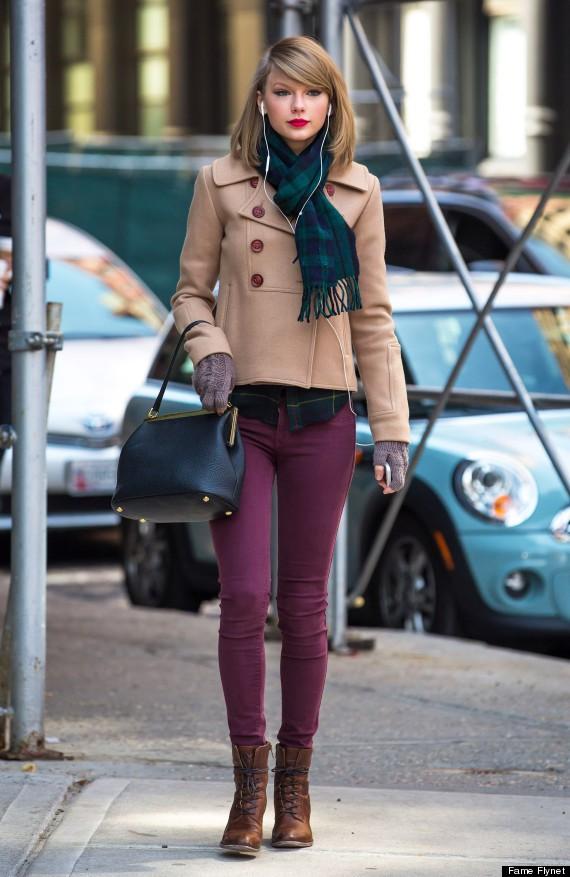 Taylor Swift gây ngỡ ngàng với thân hình phát tướng, hông nở đùi to trên phố - Ảnh 2.