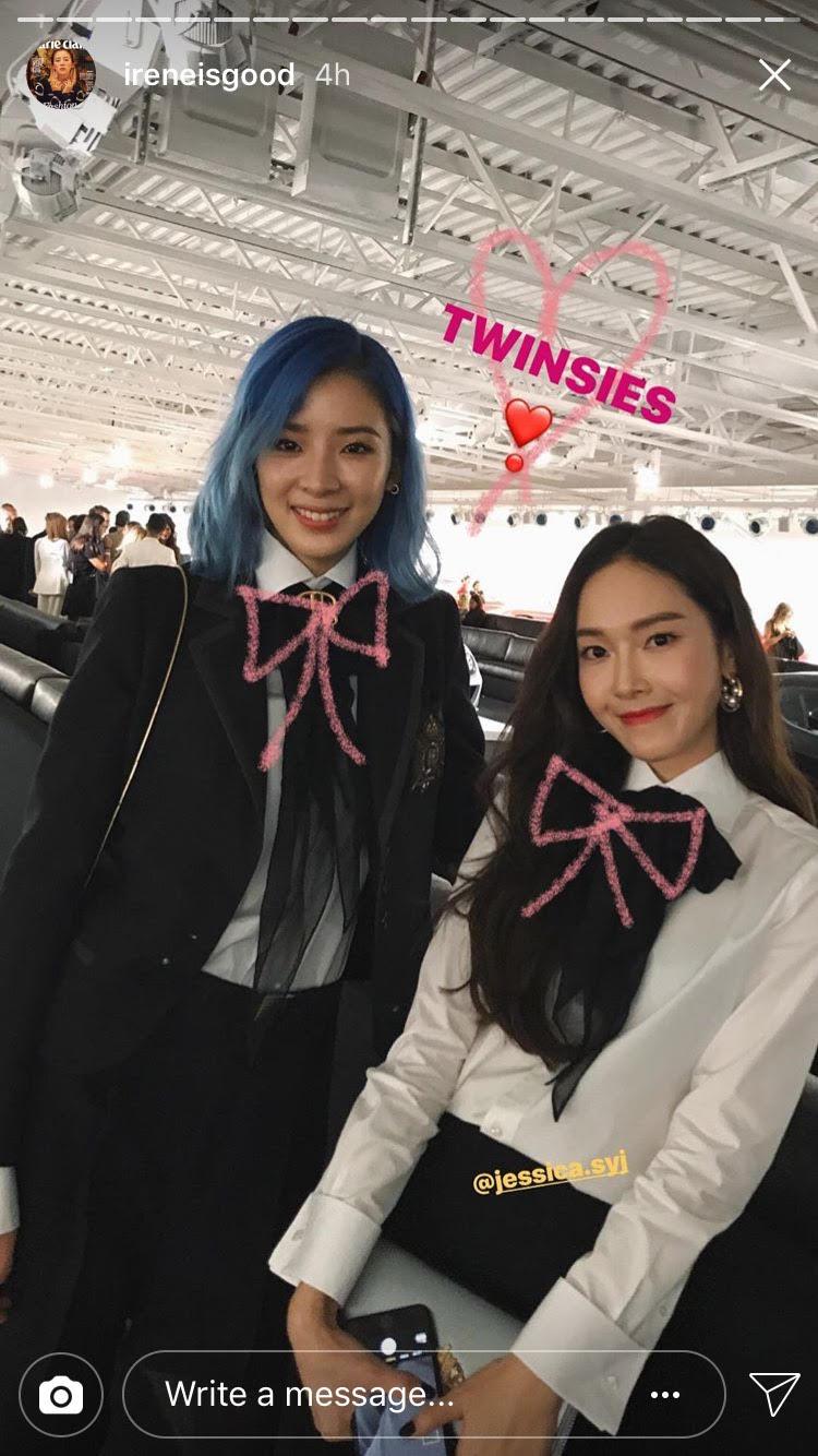 Park Shin Hye váy vóc điệu đà, Jessica Jung kín cổng cao tường tham dự NYFW - Ảnh 1.