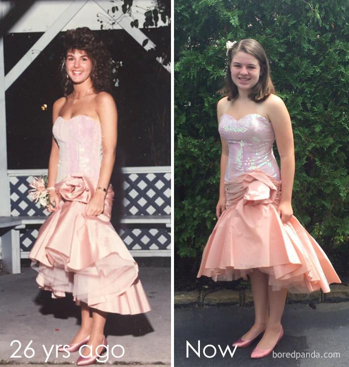 Diện váy của mẹ từ chục năm trước nhưng 17 cô nàng này trông vẫn long lanh như hot girl - Ảnh 6.