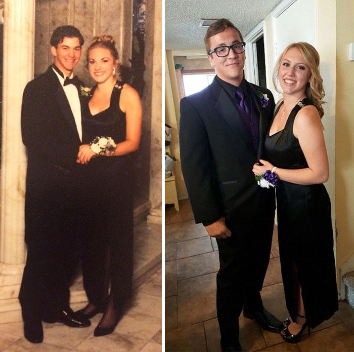 Diện váy của mẹ từ chục năm trước nhưng 17 cô nàng này trông vẫn long lanh như hot girl - Ảnh 7.