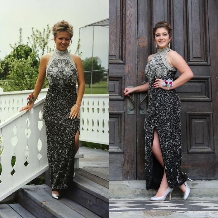 Diện váy của mẹ từ chục năm trước nhưng 17 cô nàng này trông vẫn long lanh như hot girl - Ảnh 16.