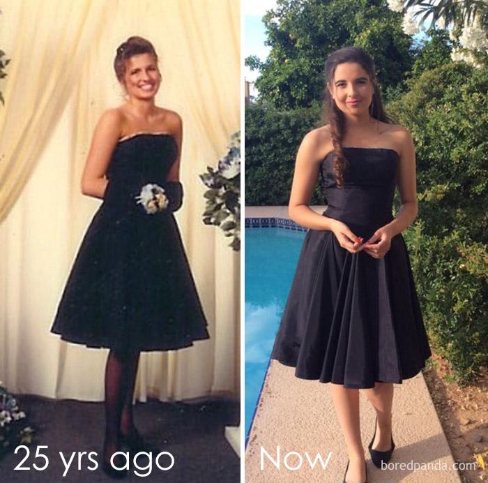 Diện váy của mẹ từ chục năm trước nhưng 17 cô nàng này trông vẫn long lanh như hot girl - Ảnh 9.