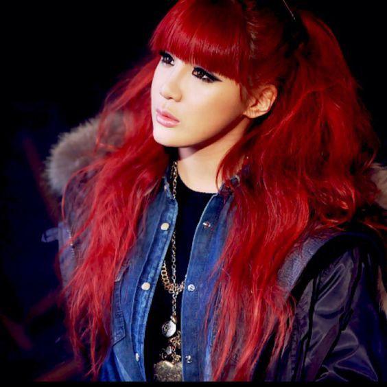 Cố nhuộm lại tóc đỏ như thời đỉnh cao nhan sắc nhưng Park Bom vẫn bị chê vì khuôn mặt biến dạng - Ảnh 3.