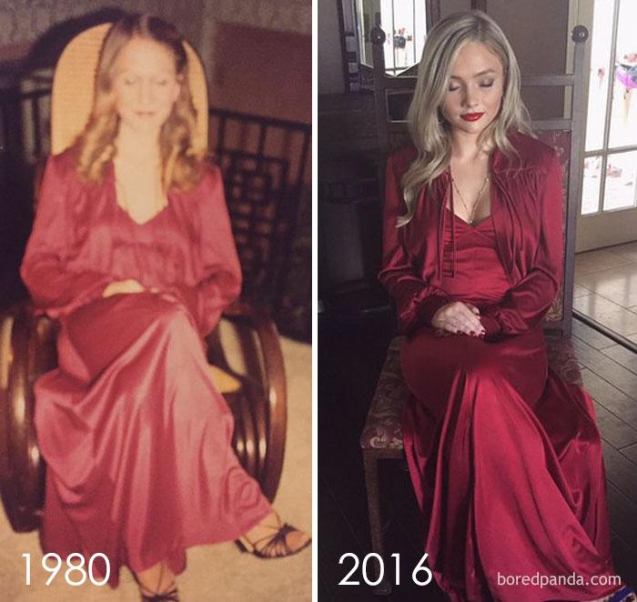 Diện váy của mẹ từ chục năm trước nhưng 17 cô nàng này trông vẫn long lanh như hot girl - Ảnh 11.