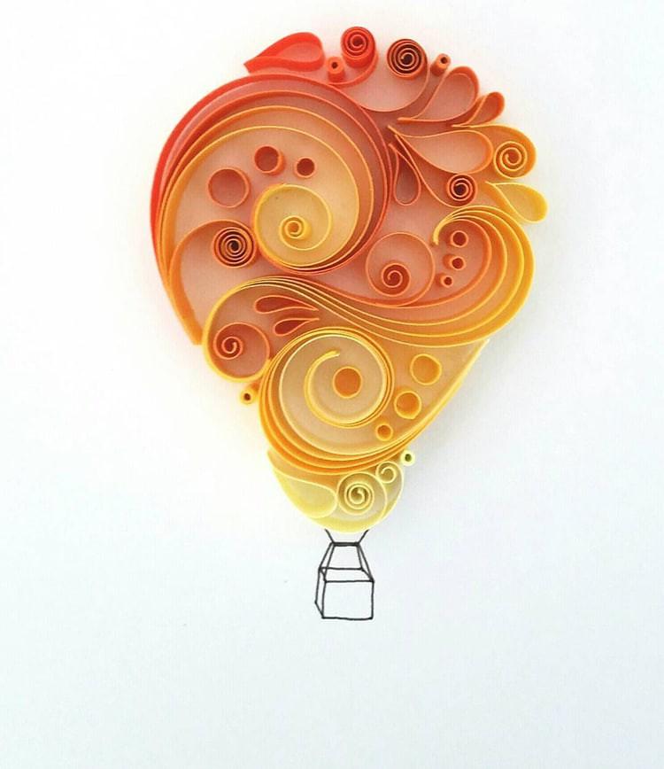Bộ sưu tập tranh xoắn giấy 3D ảo diệu của nữ nghệ nhân người Anh - Ảnh 11.