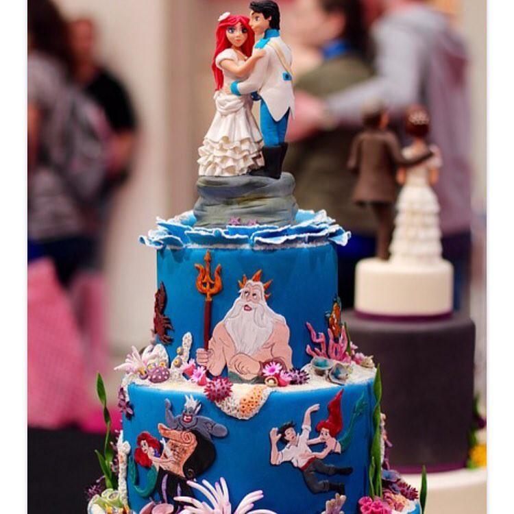 15 mẫu bánh cưới cảm hứng từ phim hoạt hình Disney - Ảnh 29.