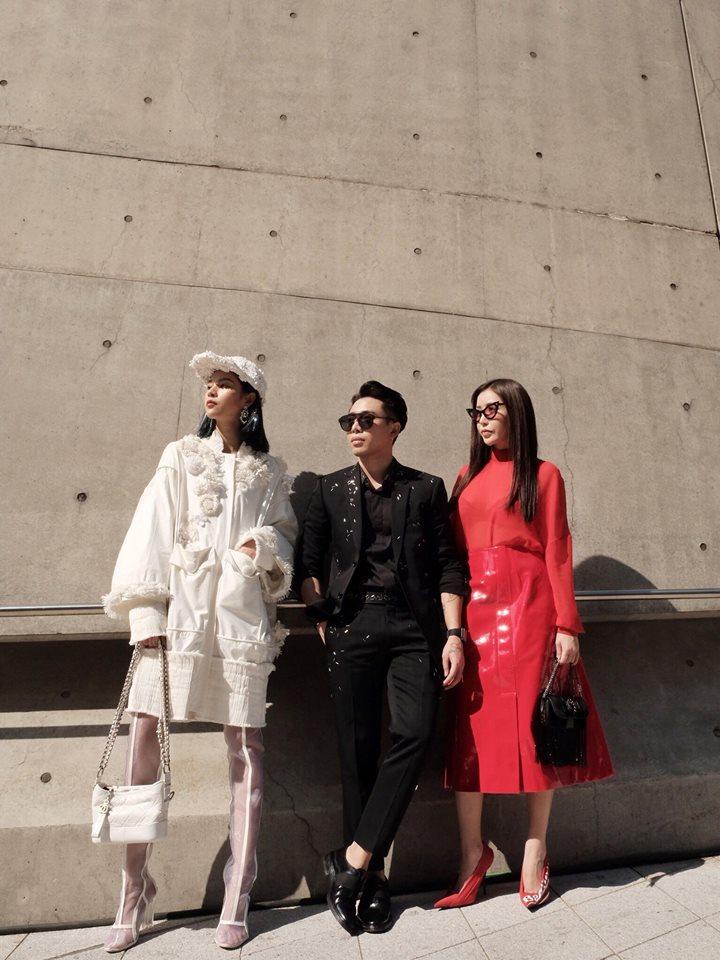 Hoàng Ku diện 700 triệu lên người, Phí Phương Anh mang Em Hoa đến chào sân Seoul Fashion Week - Ảnh 5.