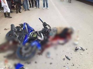 Công an điều tra cái chết của đôi nam nữ tử nạn trên đường về Hà Nội sau khi uống rượu - Ảnh 1.