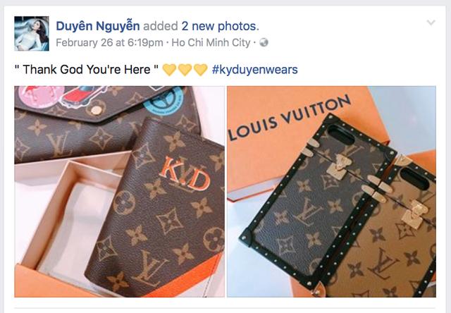 Đánh giá ốp iPhone hàng hiệu Louis Vuitton mà Hoa hậu Kỳ Duyên đang sử dụng, giá hơn 20 triệu đồng - Ảnh 1.