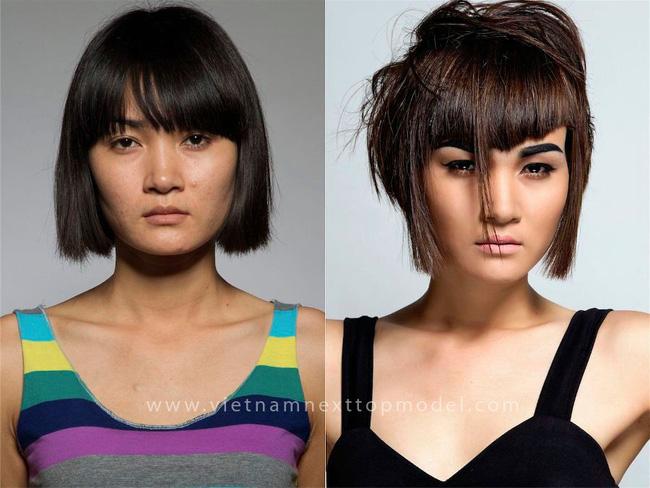 Cắt tóc như Vietnams Next Top Model thế này thì thà đừng cắt cho xong! - Ảnh 2.