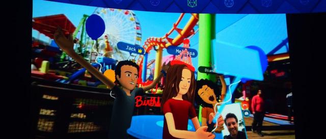 Facebook ra mắt phiên bản đầu tiên của mạng xã hội thực tế ảo Spaces - Ảnh 2.