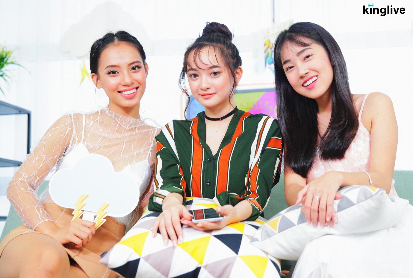 Weather Girls: Kaity Nguyễn xinh như mộng, chia sẻ tất tần tật về Em chưa 18! - Ảnh 3.