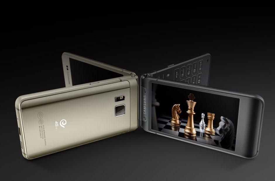 Giờ đã là năm 2017 nhưng Samsung vẫn cần mẫn ra mắt điện thoại nắp gập - Ảnh 1.
