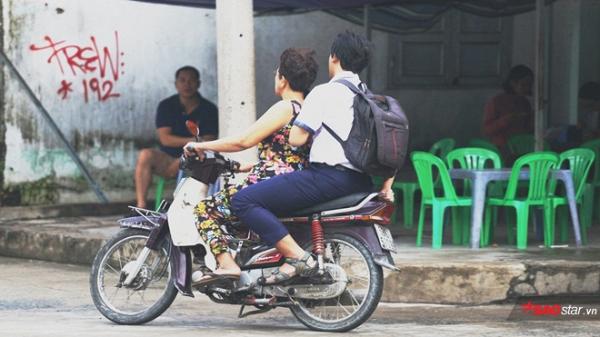 Gặp cô bán xôi ở Sài Gòn vượt hơn 10 cây số đèo nam sinh về lấy giấy tờ để kịp giờ thi THPT quốc gia - Ảnh 1.