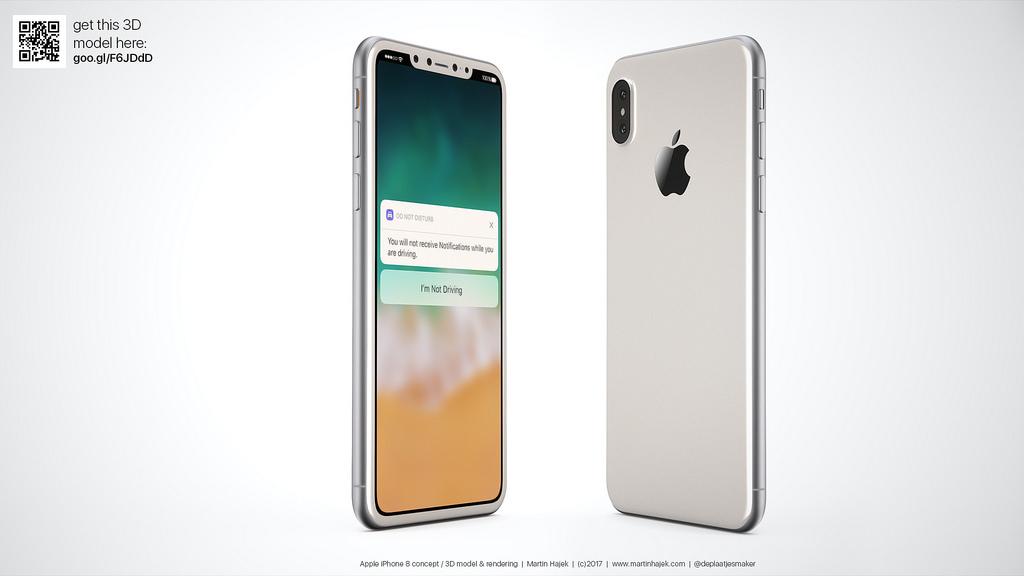 Tận mắt ngắm iPhone 8 màu đen và màu trắng đẹp rụng rời, bạn thích chiếc nào hơn? - Ảnh 1.