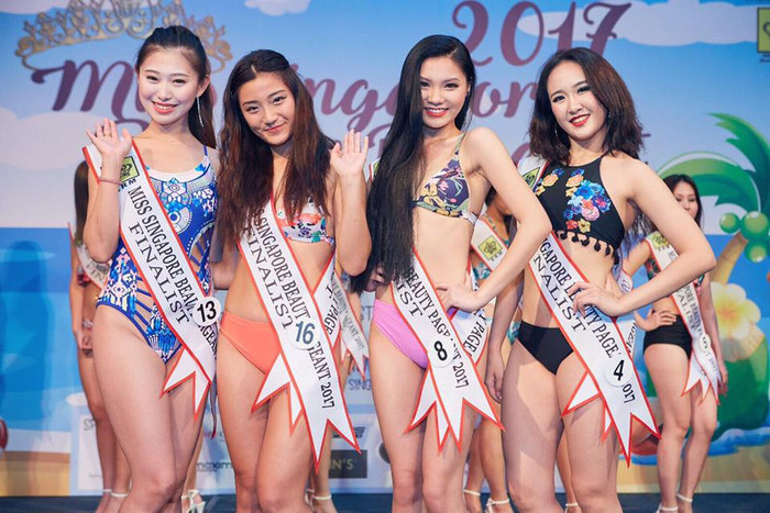Cuộc thi hoa hậu gây tranh cãi nhất Singapore: Dân mạng soi mỏi mắt cũng chẳng thấy ứng viên nào đẹp - Ảnh 2.