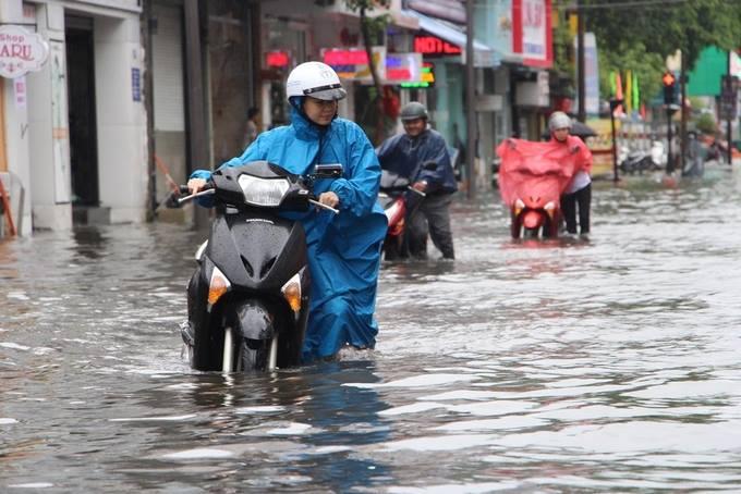 Clip: Người dân đổ xô ra đoạn đường ngập để bắt cá giữa tâm bão số 4 - Ảnh 10.