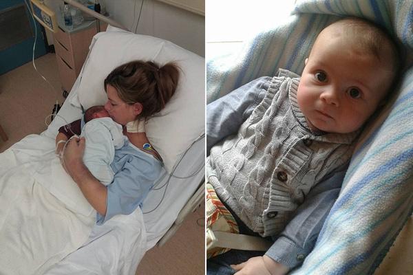Tim ngừng đập khi sinh con, người mẹ bất ngờ tỉnh dậy sau 1 ngày mê man trên giường bệnh - Ảnh 3.