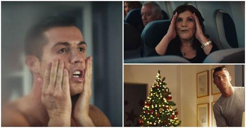 Mẹ Ronaldo ngày càng đắt sô quảng cáo - Ảnh 2.