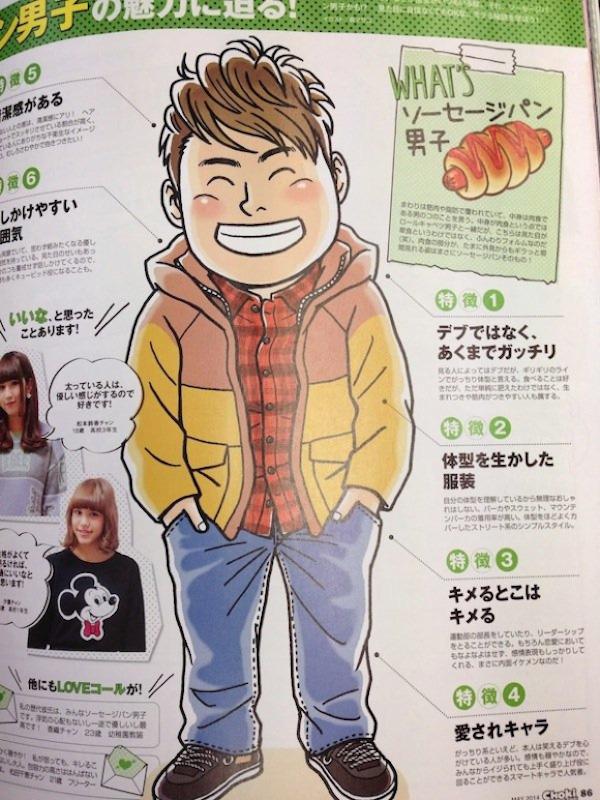 Tiêu chuẩn bạn trai lý tưởng của các cô gái Nhật: phải giống như bánh mì xúc xích! - Ảnh 2.