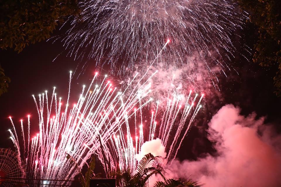 Hàng ngàn người dân đổ về Công viên Đầm Sen xem pháo hoa mừng Tết Độc Lập - Ảnh 12.