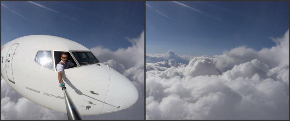 Sự thật đằng sau những tấm hình selfie giữa bầu trời gây sốt Internet sẽ khiến bạn cảm thấy... bị lừa - Ảnh 3.