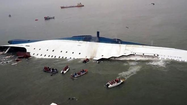 Xem video ghi lại thảm kịch đắm phà Sewol được chính thức công bố sau hơn 3 năm - Ảnh 1.