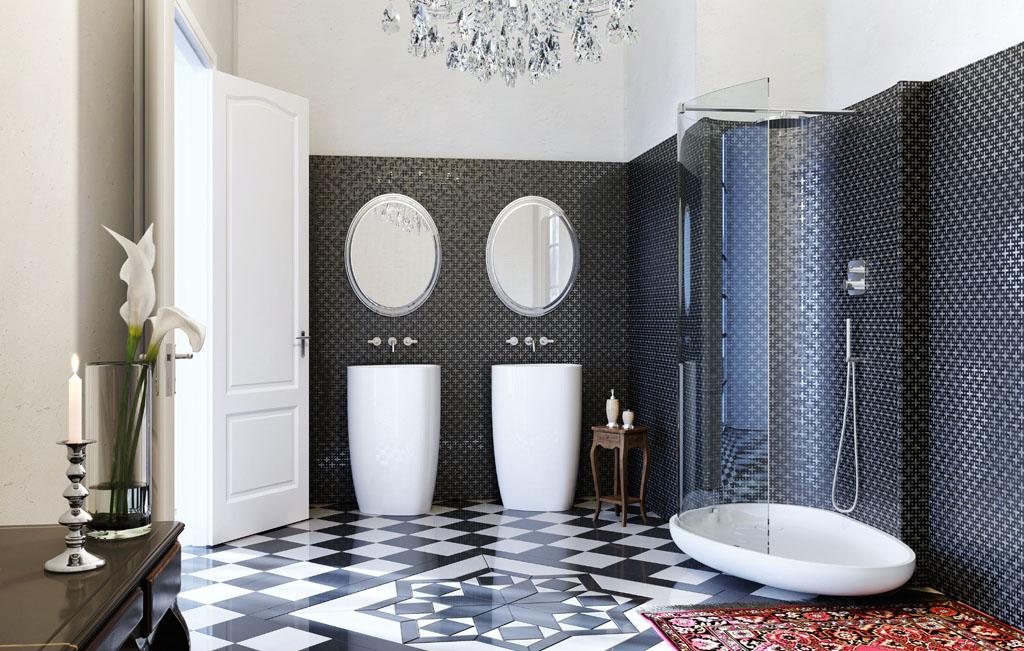 15 phòng tắm với phong cách tối giản mà vẫn cuốn hút - Ảnh 3.