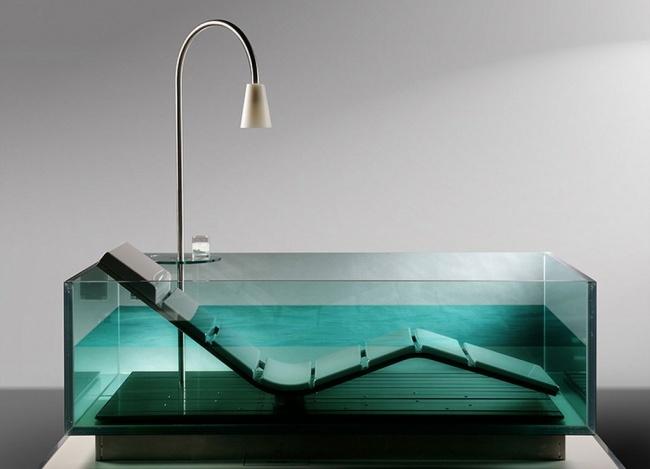 16 thiết kế bồn tắm khơi dậy cảm hứng ngay từ cái nhìn đầu tiên - Ảnh 3.