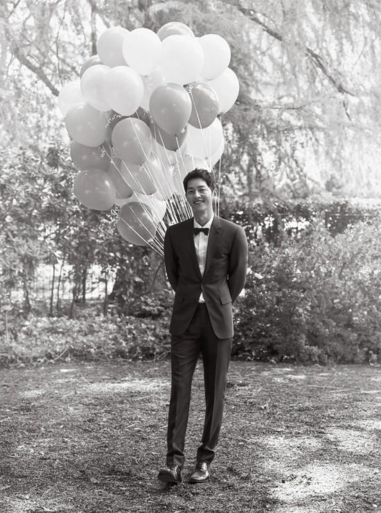 Ảnh cưới Song Joong Ki và Song Hye Kyo 2