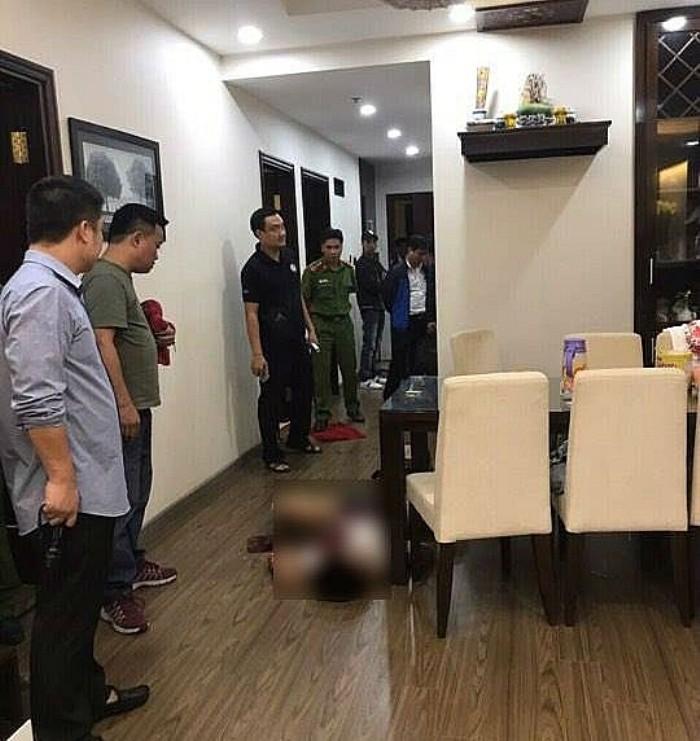 Hiện trường vụ nam sinh giết người tình mới quen trên facebook ở chung cư Hà Nội - Ảnh 1.