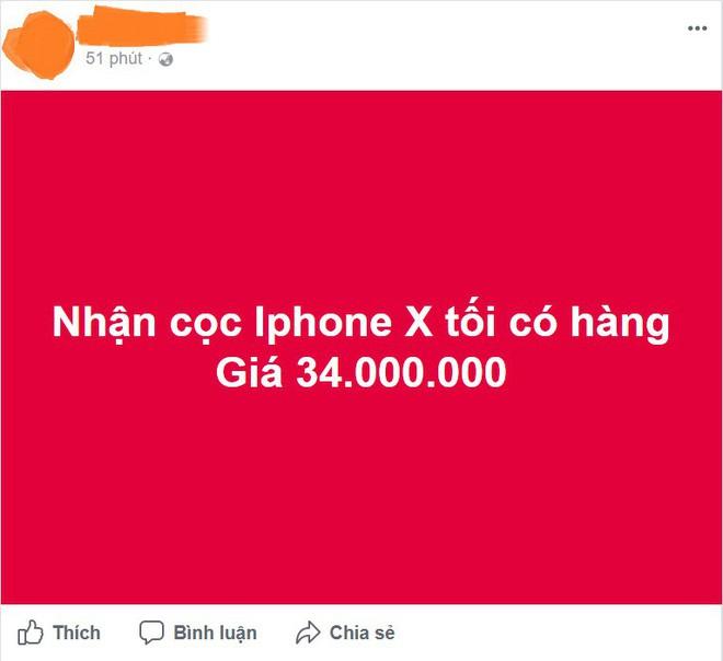 iPhone X giảm giá cả vài chục triệu so với lúc về nước, sắp bão hòa giá