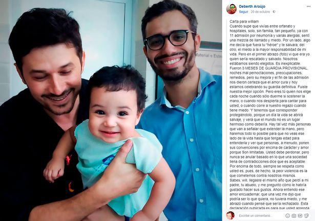 Nghẹn ngào lá thư ông bố đồng tính gửi con nuôi: Cảm ơn con vì đã dạy ta cách làm một người bố như thế nào - Ảnh 2.
