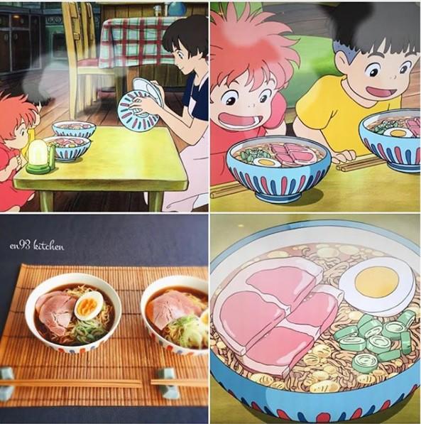Bà nội trợ tài ba biến đồ ăn trong hoạt hình Ghibli ra đời thực - Ảnh 1.