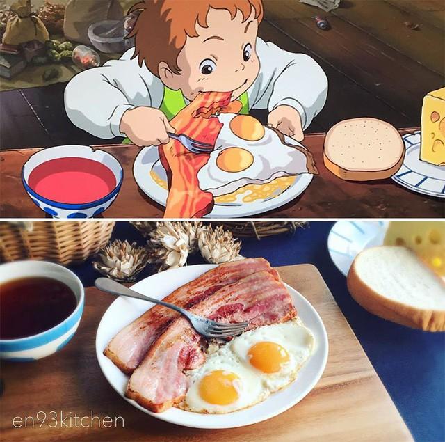 Bà nội trợ tài ba biến đồ ăn trong hoạt hình Ghibli ra đời thực - Ảnh 3.