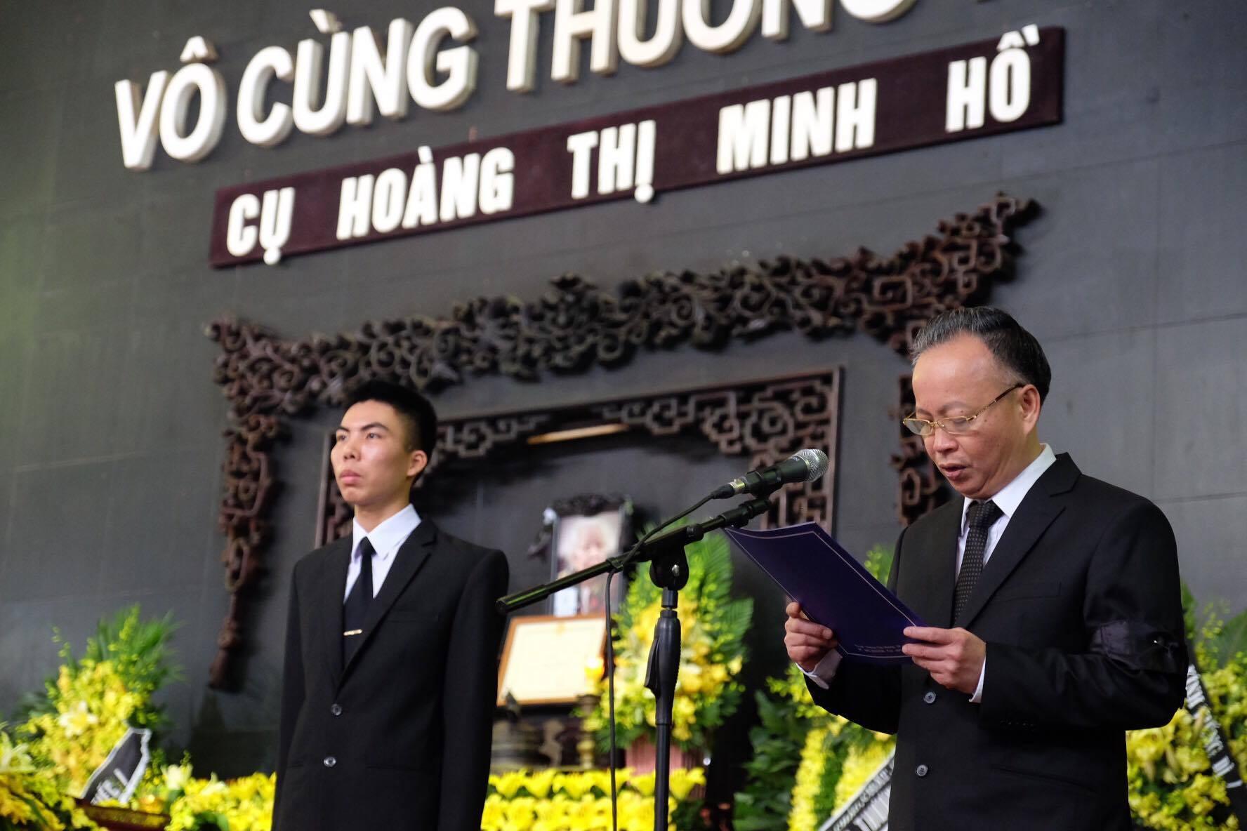 Người thân bật khóc bên linh cữu cụ bà Hoàng Thị Minh Hồ - người hiến hơn 5.000 lượng vàng cho nhà nước - Ảnh 24.