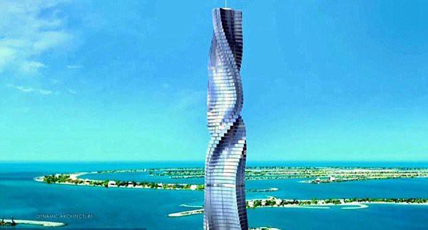 Dubai đang cho xây dựng tòa nhà biết chuyển động theo lệnh của con người đầu tiên trên thế giới - Ảnh 1.