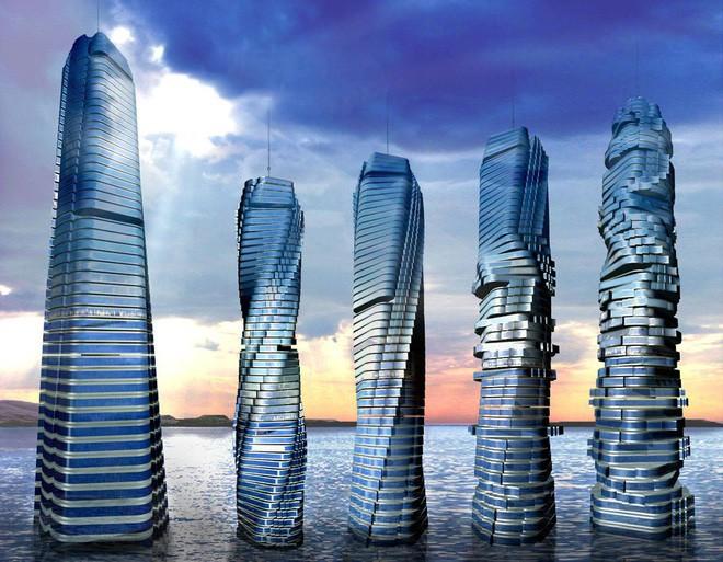 Dubai đang cho xây dựng tòa nhà biết chuyển động theo lệnh của con người đầu tiên trên thế giới - Ảnh 3.
