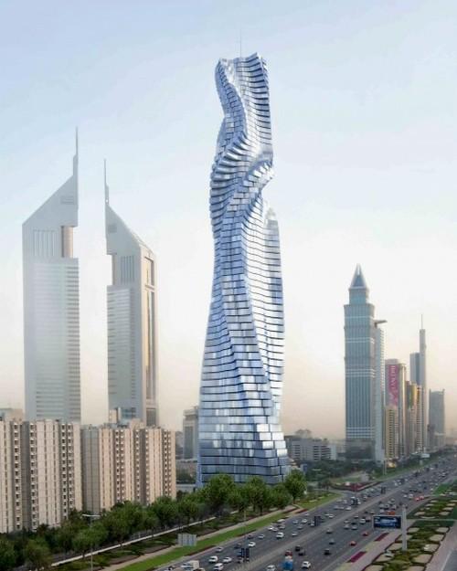 Dubai đang cho xây dựng tòa nhà biết chuyển động theo lệnh của con người đầu tiên trên thế giới - Ảnh 4.