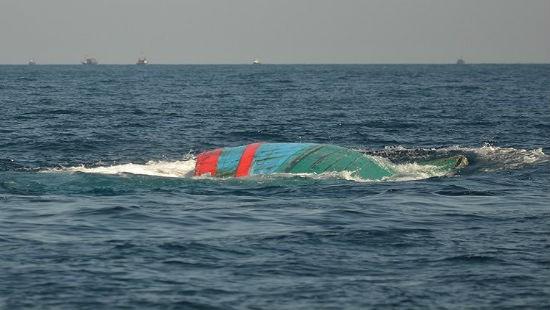 Đắm tàu trên vùng biển Cô Tô, 1 ngư dân mất tích - Ảnh 1.