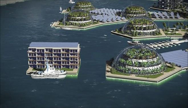 Bạn không hoa mắt đâu, đây là thành phố nổi đầu tiên trên thế giới giữa đại dương mênh mông - Ảnh 2.