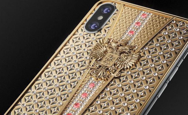 Mục sở thị siêu iPhone X đính 344 viên kim cương có giá hơn 900 triệu đồng - Ảnh 2.