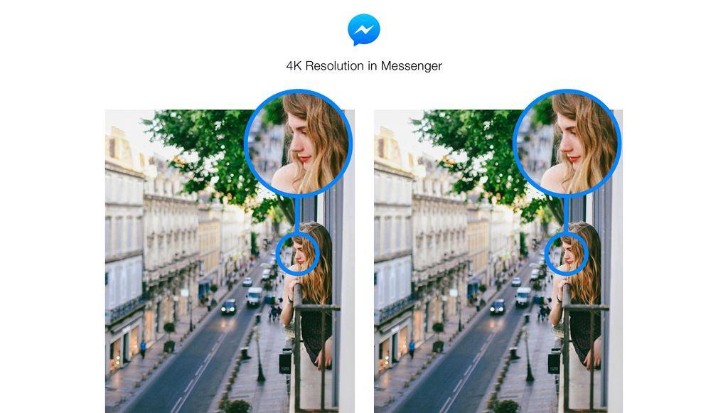 Đã có thể gửi ảnh sống ảo không bị vỡ nét qua Facebook Messenger, hỗ trợ cả độ phân giải 4K - Ảnh 1.