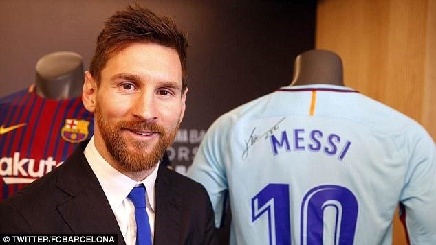 500.000 bảng/tuần vẫn ít so với tầm vóc của Messi - Ảnh 2.