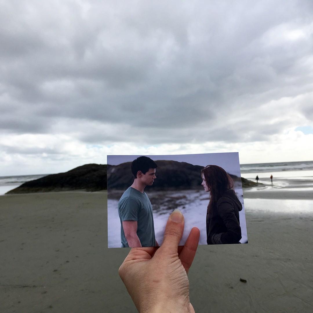 Ngắm các bối cảnh phim nổi tiếng ngoài đời thực được chụp lại theo phong cách ảnh trong ảnh - Ảnh 4.
