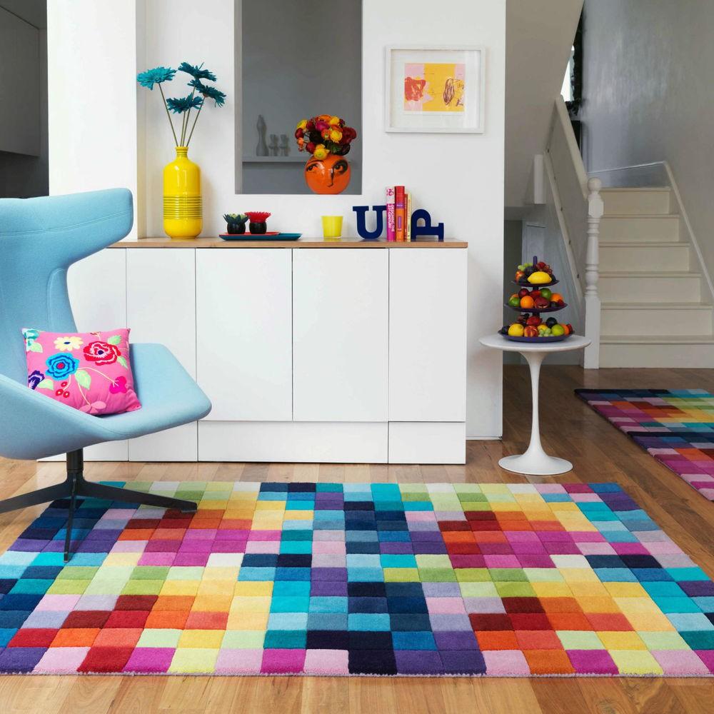 Gợi ý 14 mẫu thảm trải sàn rực rỡ giúp căn phòng biến thành cầu vồng đẹp mắt - Ảnh 3.